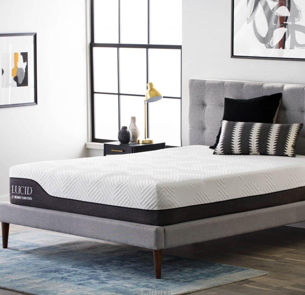 lucid hybrid mattress