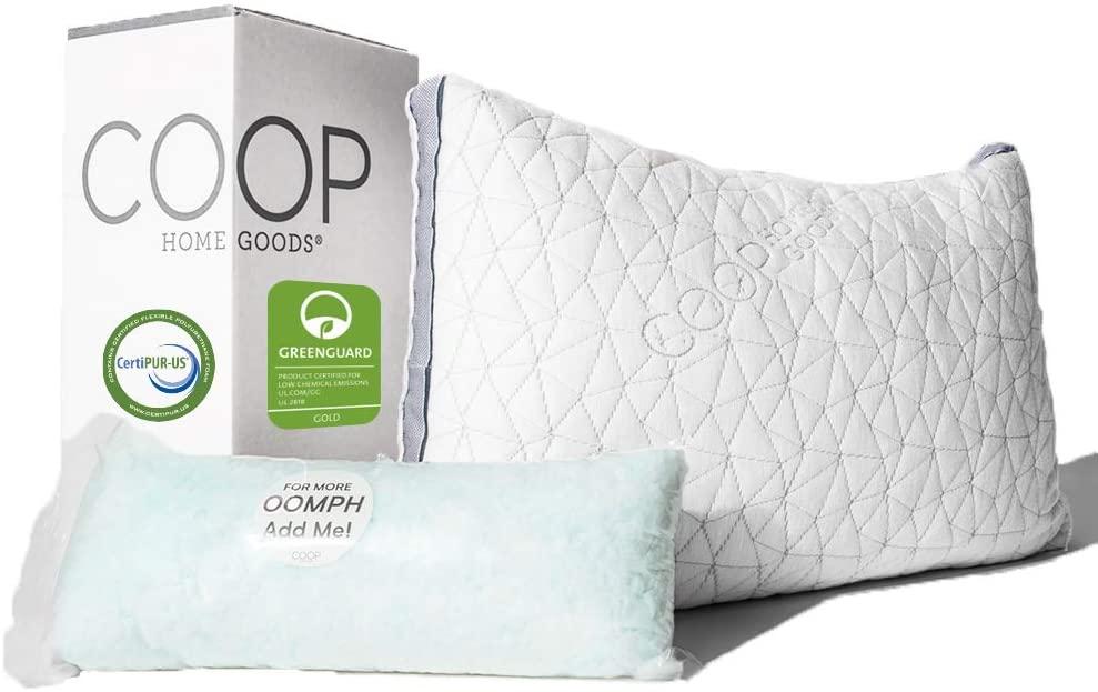 Coop Home Goods Eden Best Pillow For Side Sleepers